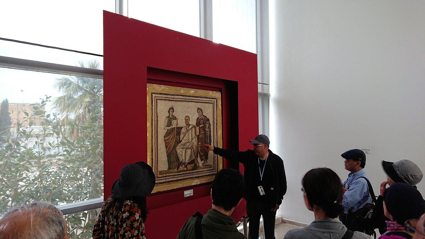 チュニスのバルドー博物館はチュニジアで一番の内容です5