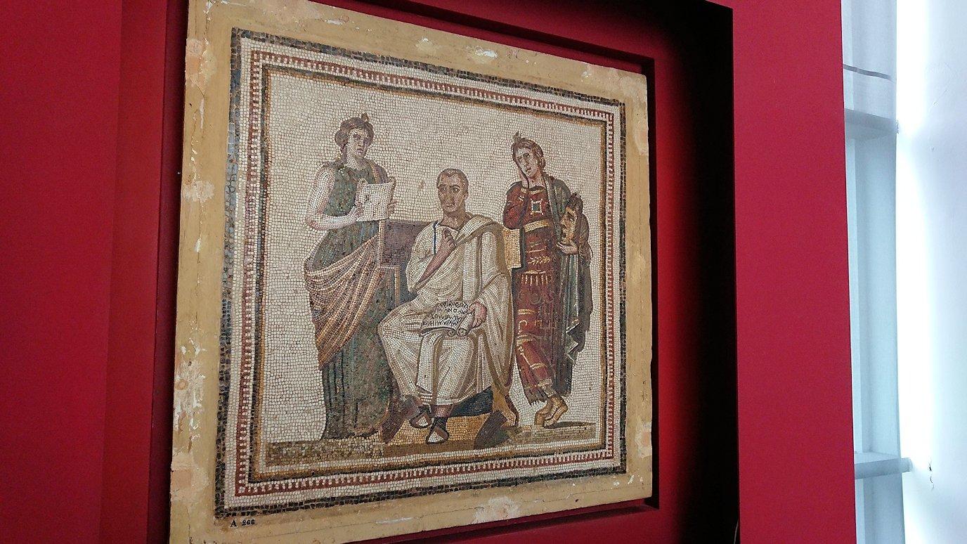 チュニスのバルドー博物館はチュニジアで一番の内容です6