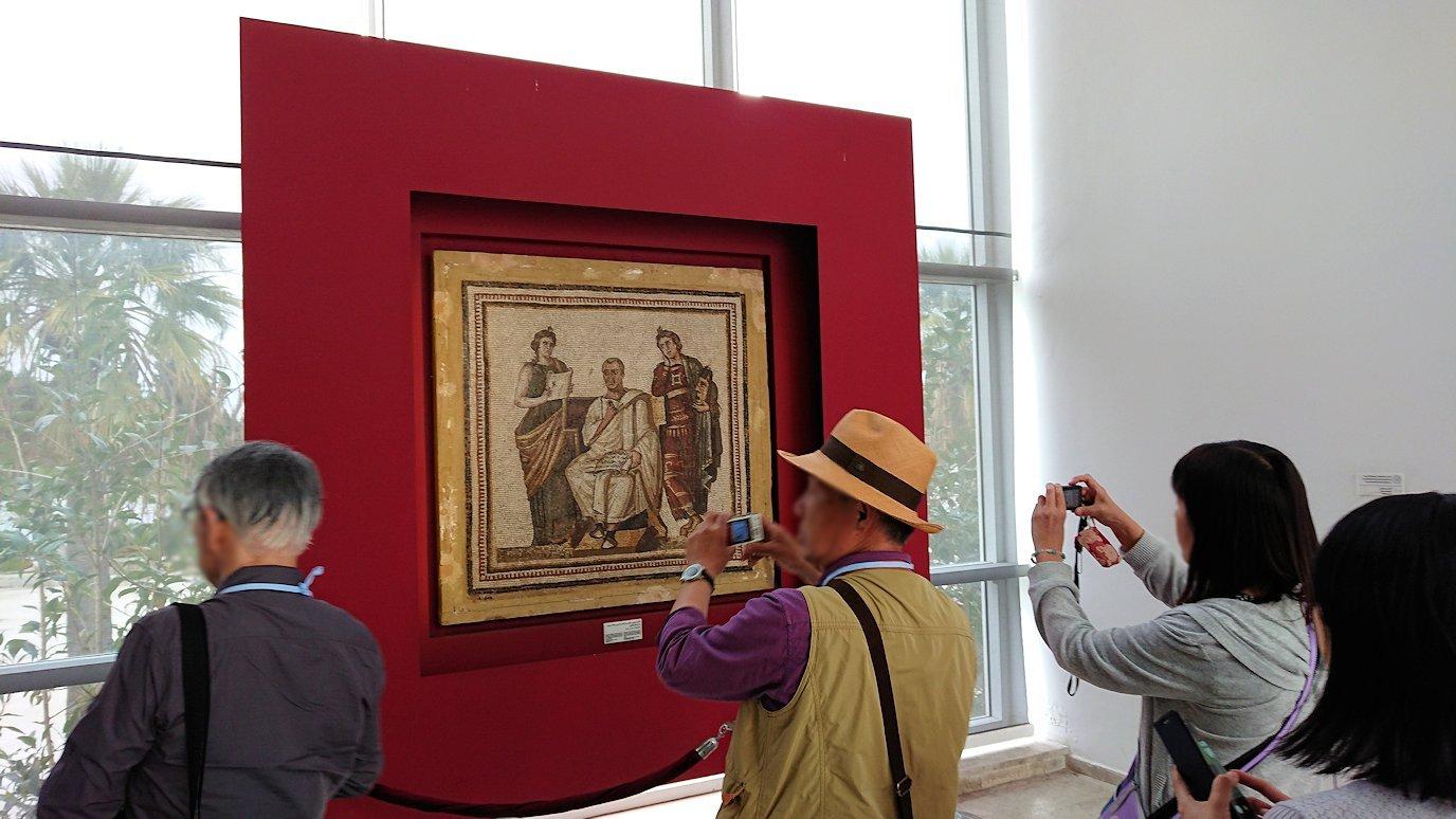 チュニスのバルドー博物館はチュニジアで一番の内容です8