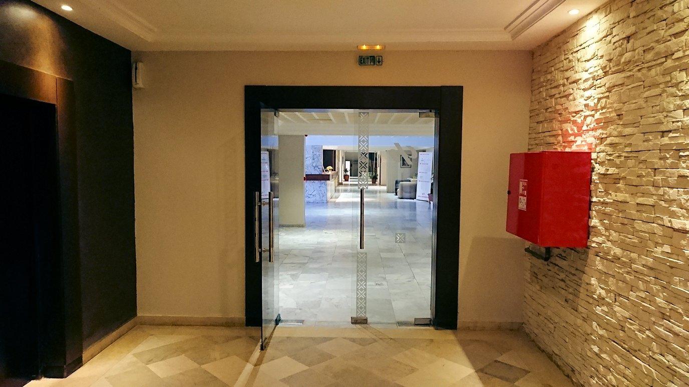 チュニジアのホテル:コンチネンタル(CONTINENTAL)での朝食は?1