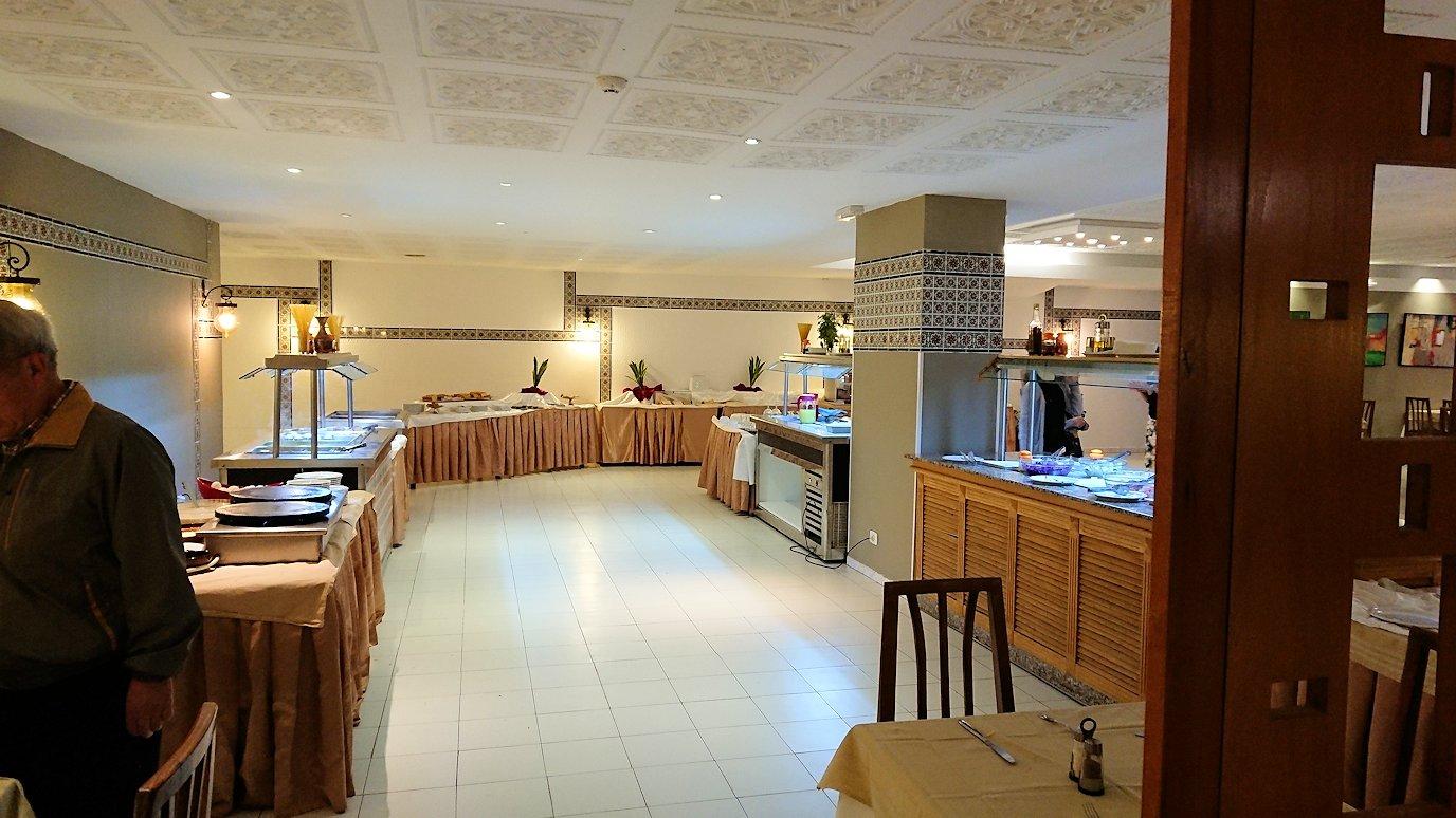 チュニジアのホテル:コンチネンタル(CONTINENTAL)での朝食は?2