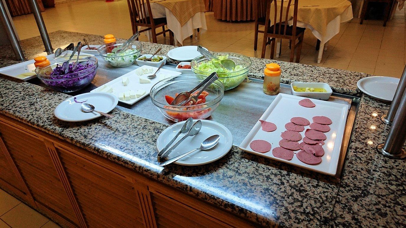 チュニジアのホテル:コンチネンタル(CONTINENTAL)での朝食は?3
