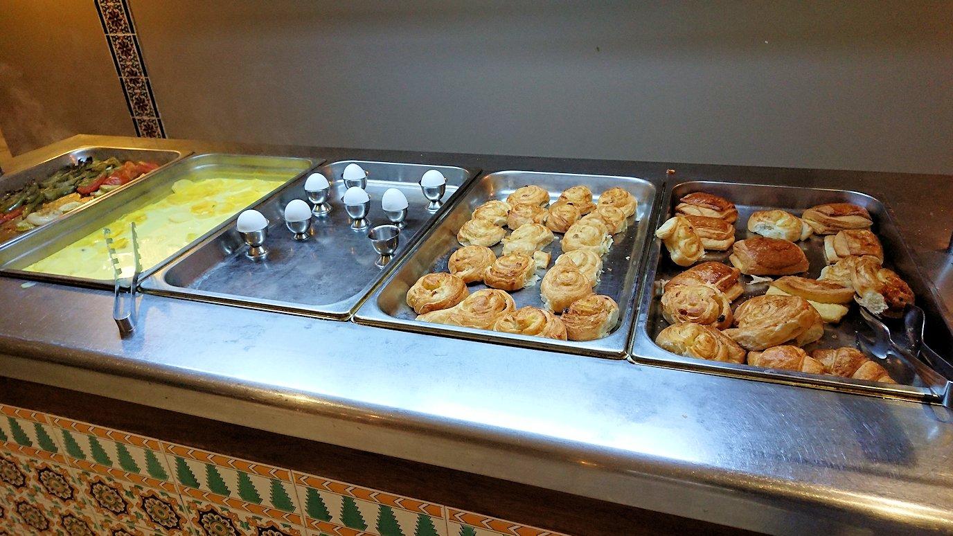 チュニジアのホテル:コンチネンタル(CONTINENTAL)での朝食は?8