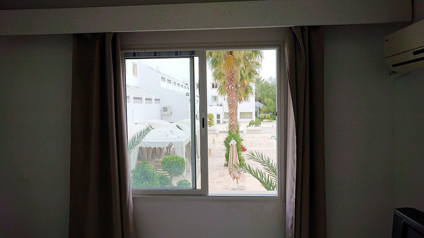 チュニジアのホテル:コンチネンタル(CONTINENTAL)での朝食を食べる2