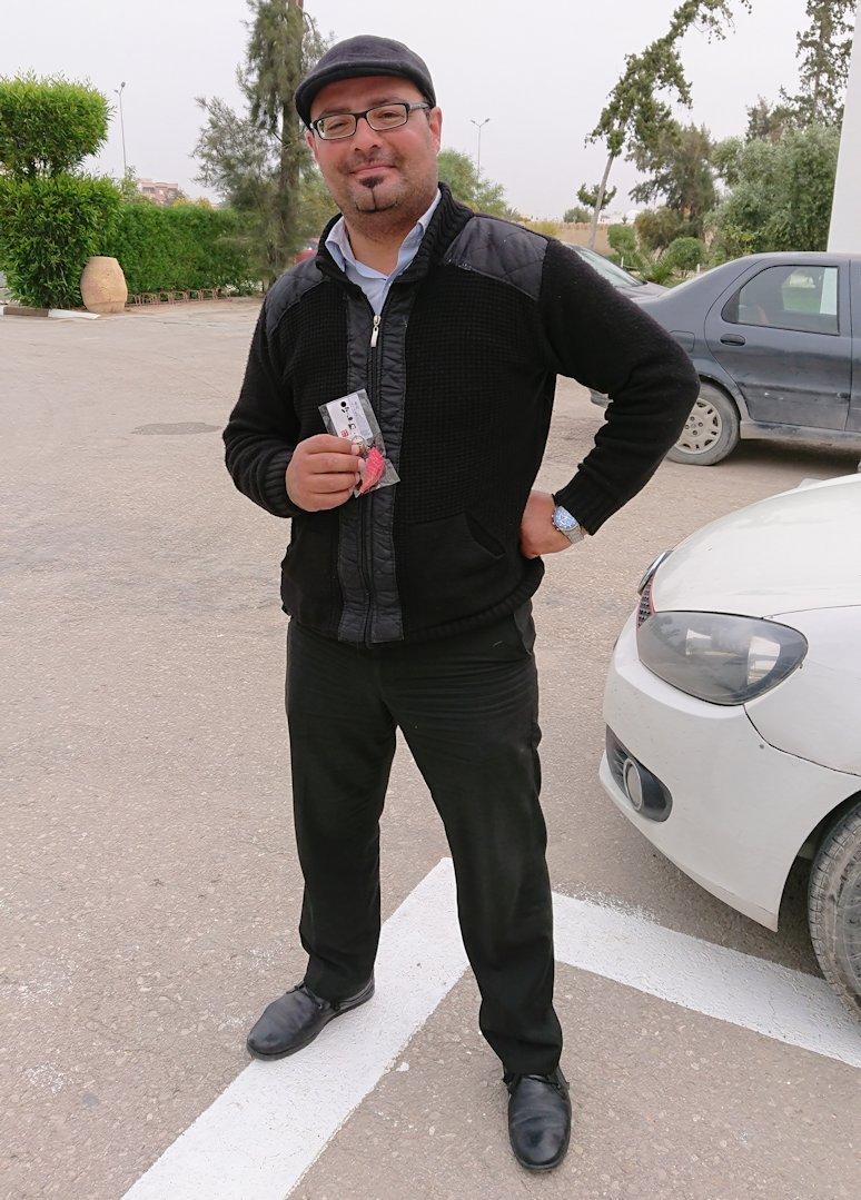 チュニジアのホテル:コンチネンタル(CONTINENTAL)での朝食を食べる3
