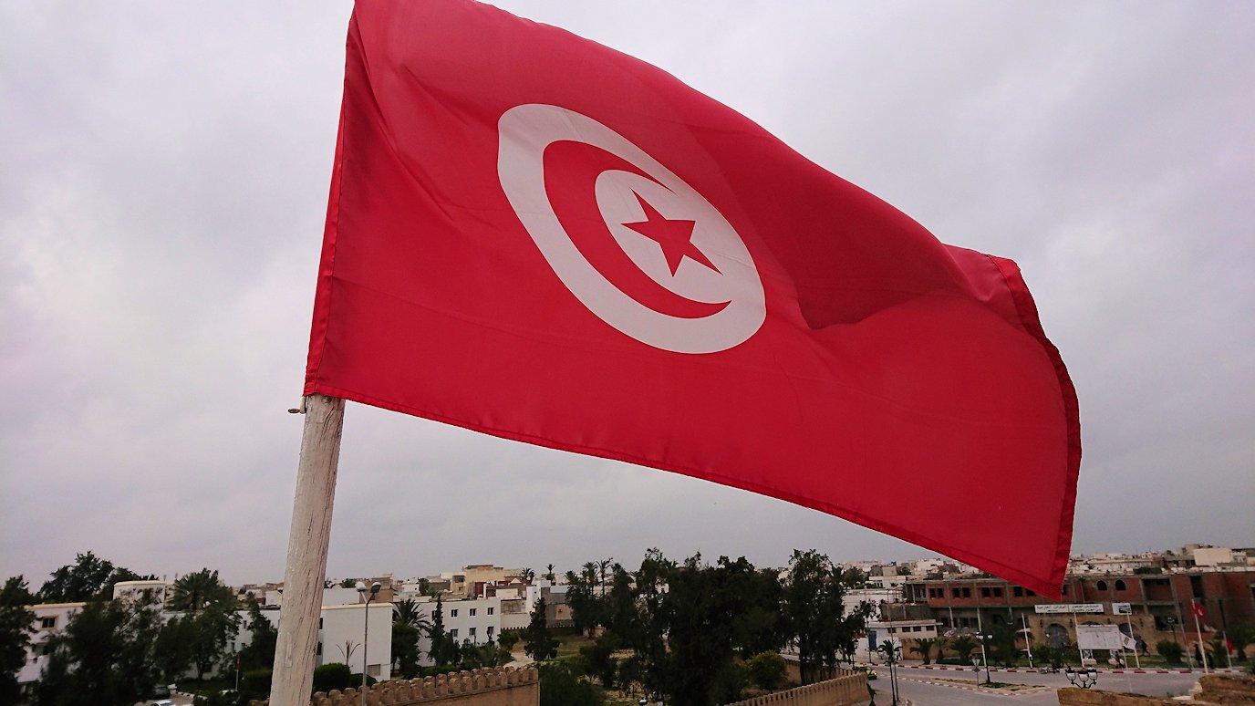 チュニジアのホテル:コンチネンタル(CONTINENTAL)を出て向かいの貯水池を見学5