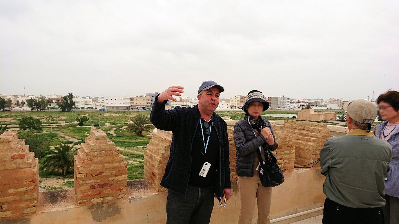 チュニジアのホテル:コンチネンタル(CONTINENTAL)を出て向かいの貯水池を見学8
