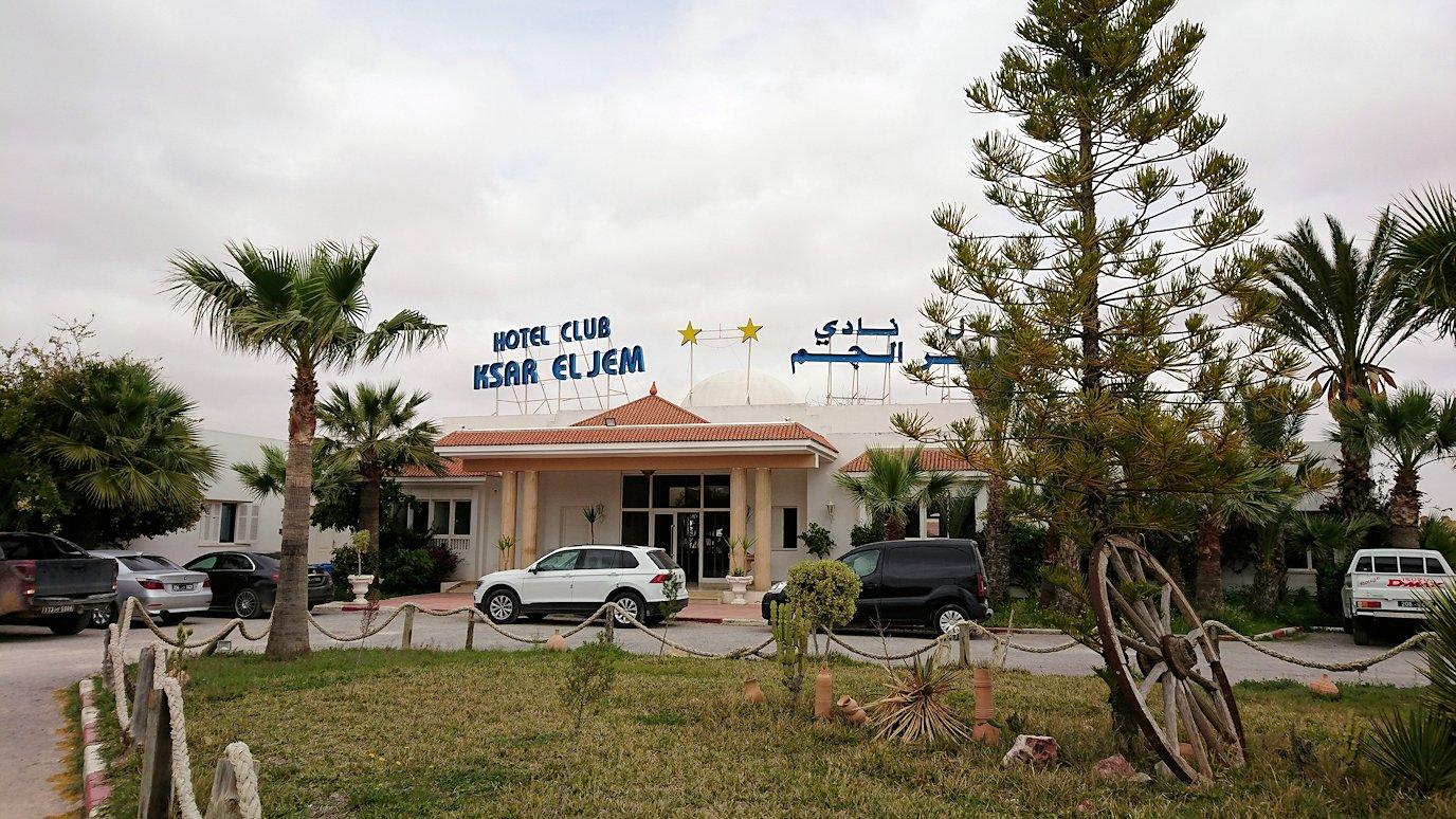 チュニジア・エルジェムにあるHotel club ksar Eljemの周りを散策4