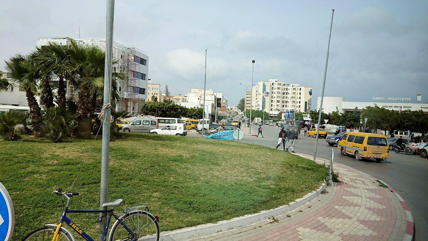 チュニジアのスースの街に入ってきました3