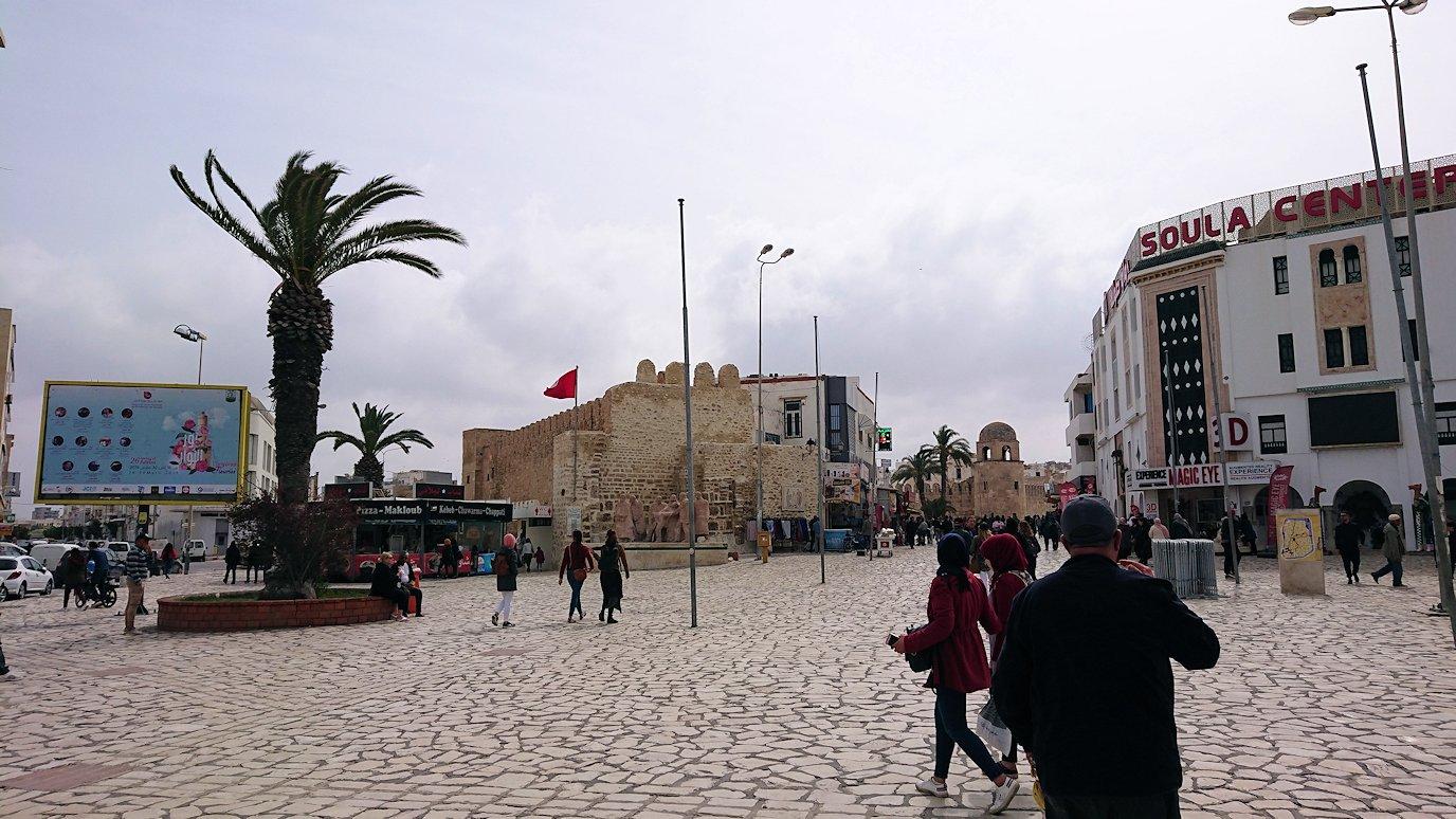 チュニジアのスースの街に到着1