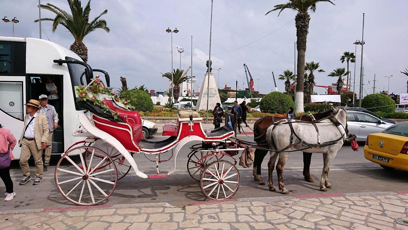 チュニジアのスースの街に到着2