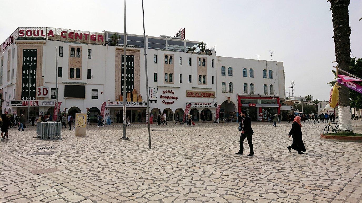 チュニジアのスースの街に到着3