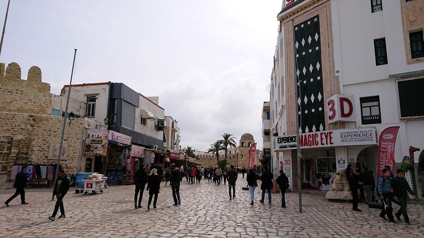 チュニジアのスースの街に到着5
