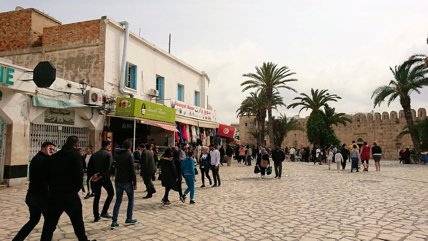 チュニジアのスースの街に到着7