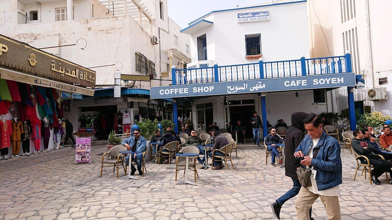 チュニジアのスースの街に到着8