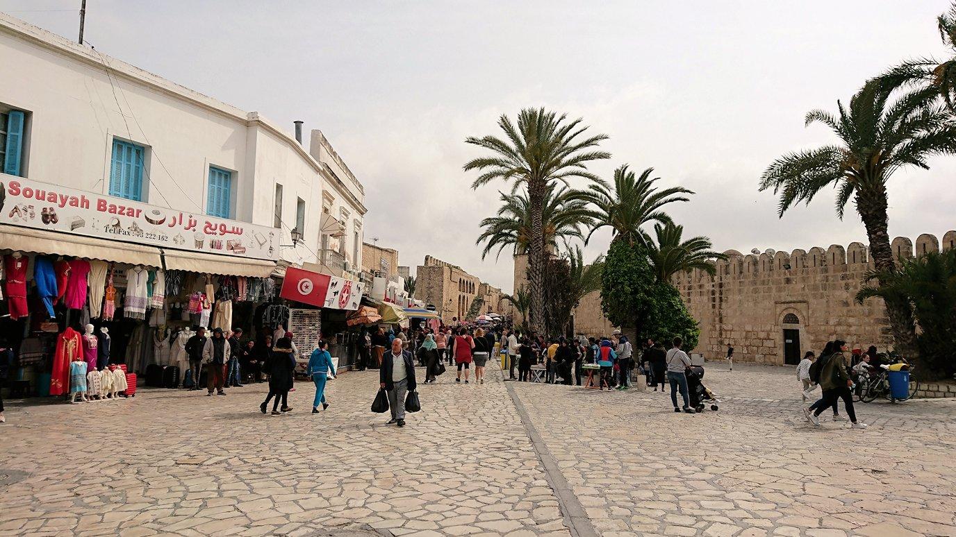 チュニジアのスースの街に到着9
