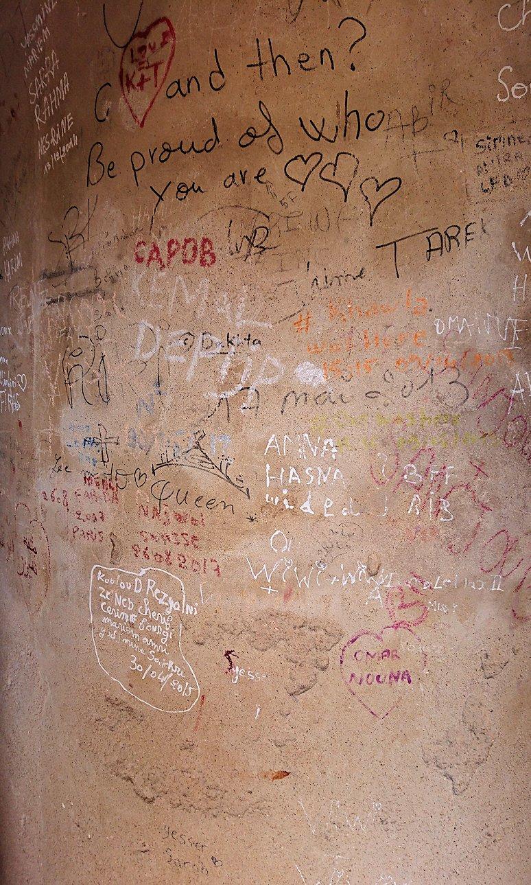チュニジアのスースの街の旧市街で自由時間にラバトに入場4