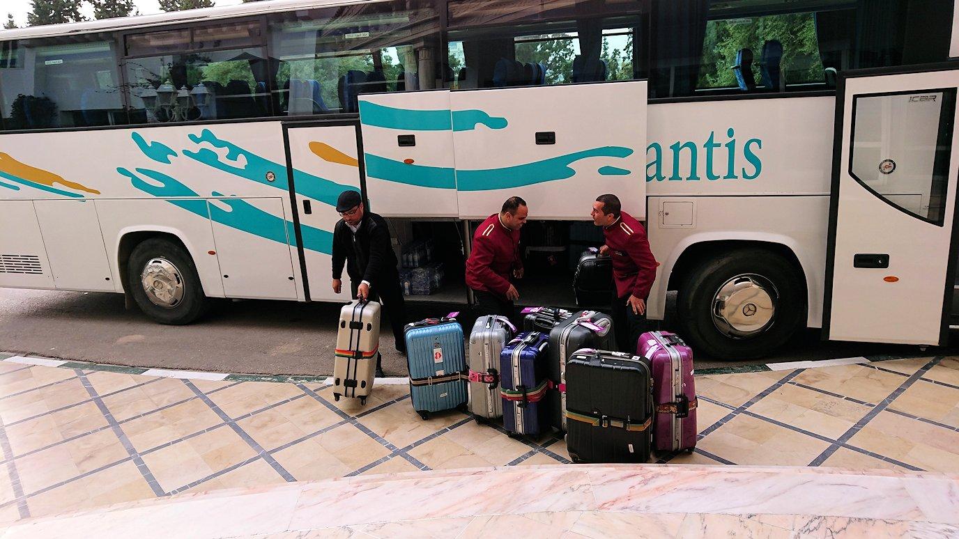 チュニジアのスースの街にある「マルハバ ロイヤル サレム」ホテルに到着5
