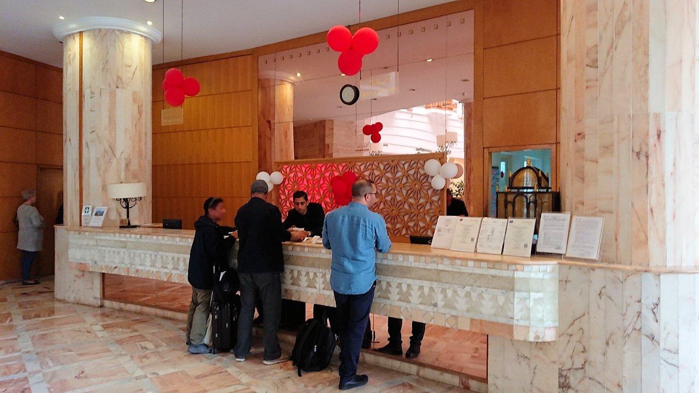 チュニジアのスースの街にある「マルハバ ロイヤル サレム」ホテルに到着6