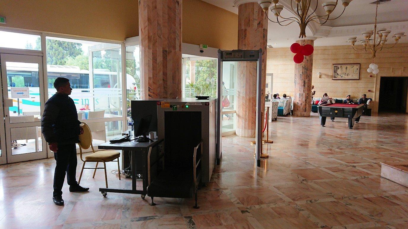 チュニジアのスースの街にある「マルハバ ロイヤル サレム」ホテルに到着7