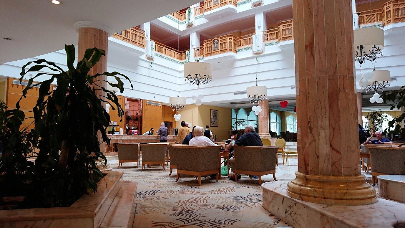 チュニジアのスースの街にある「マルハバ ロイヤル サレム」ホテルに到着8