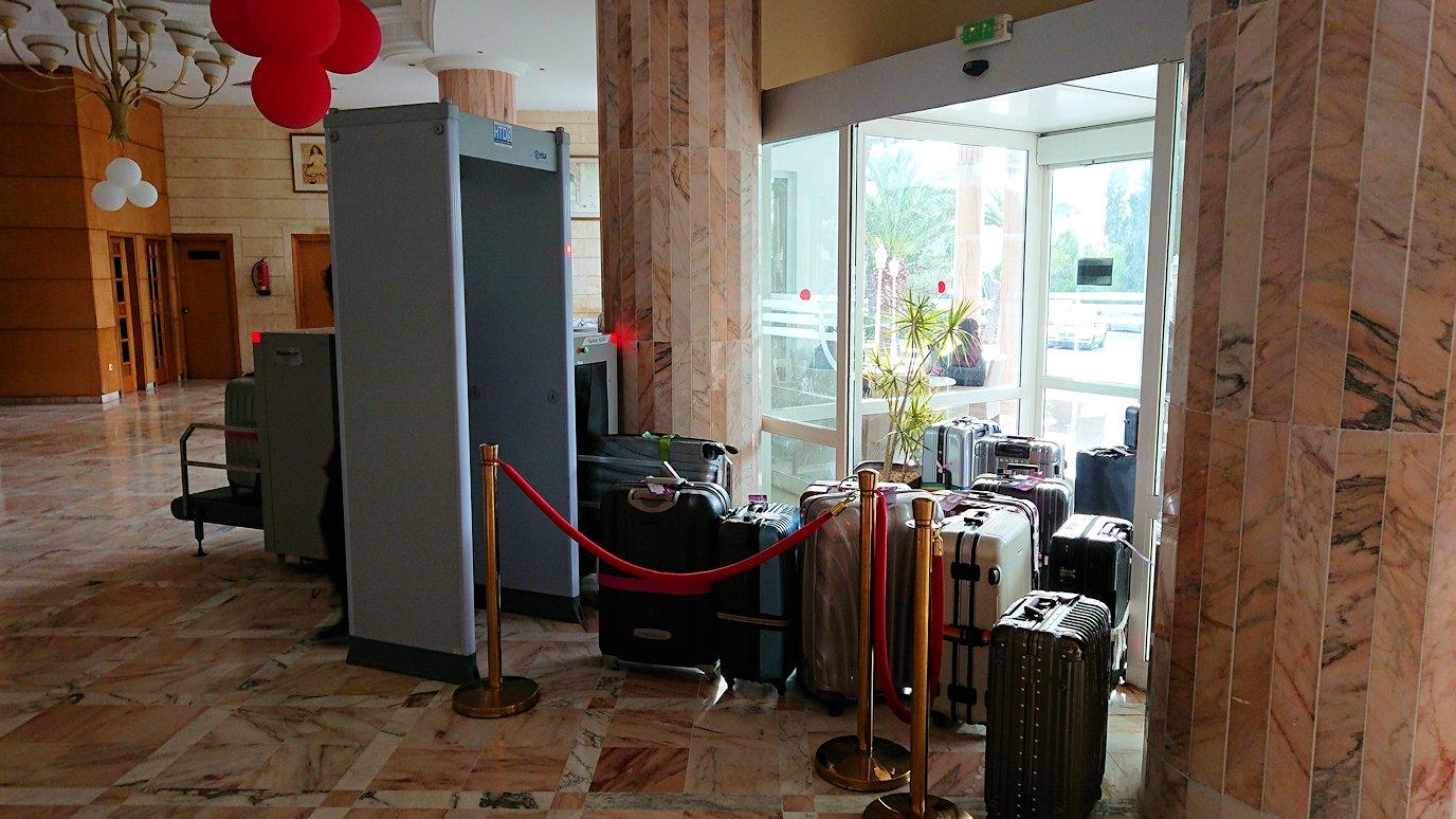 チュニジアのスースの街にある「マルハバ ロイヤル サレム」ホテルに到着9