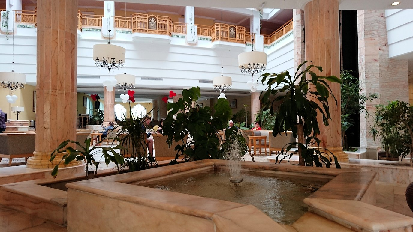 チュニジアのスースの街にある「マルハバ ロイヤル サレム」ホテルにチェックイン