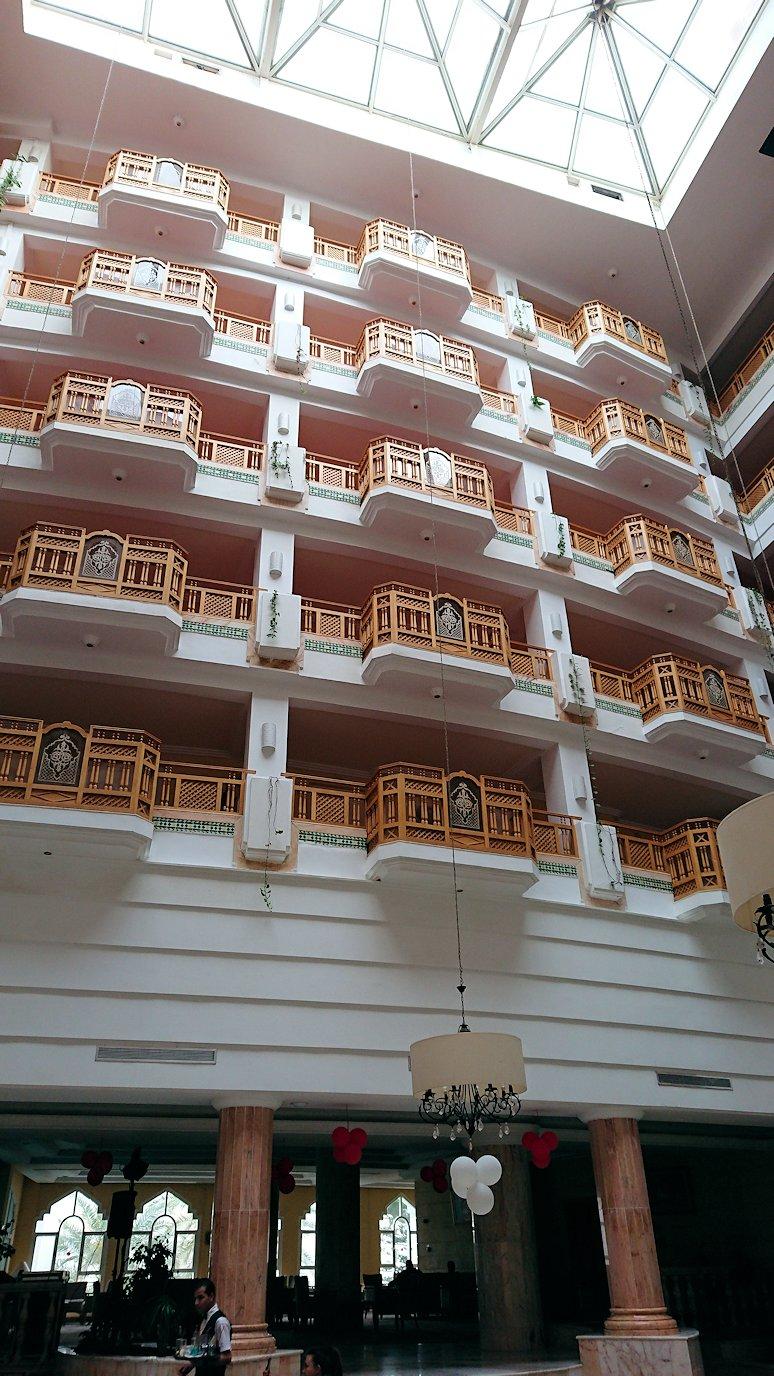 チュニジアのスースの街にある「マルハバ ロイヤル サレム」ホテルにチェックイン1