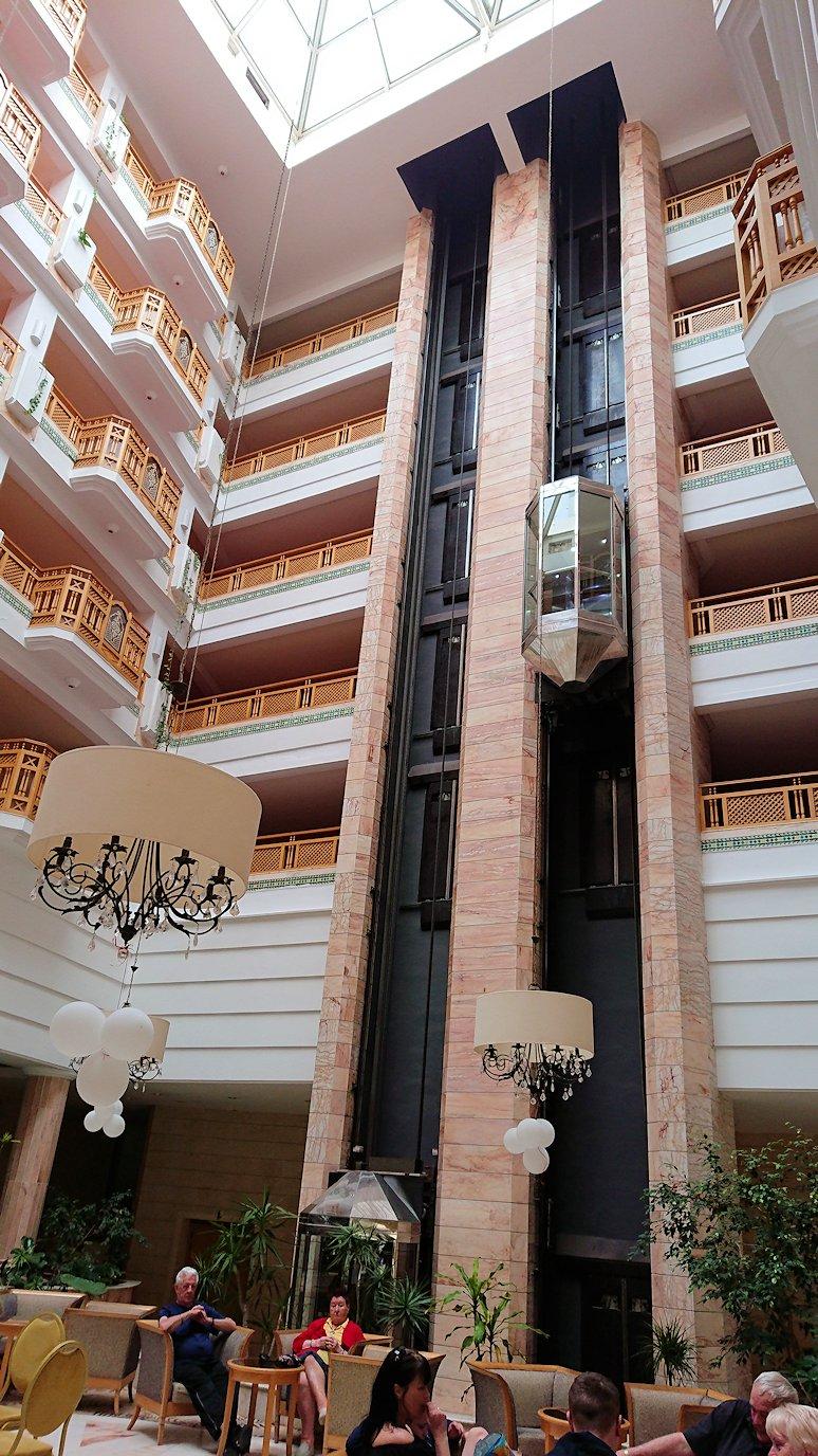 チュニジアのスースの街にある「マルハバ ロイヤル サレム」ホテルにチェックイン2