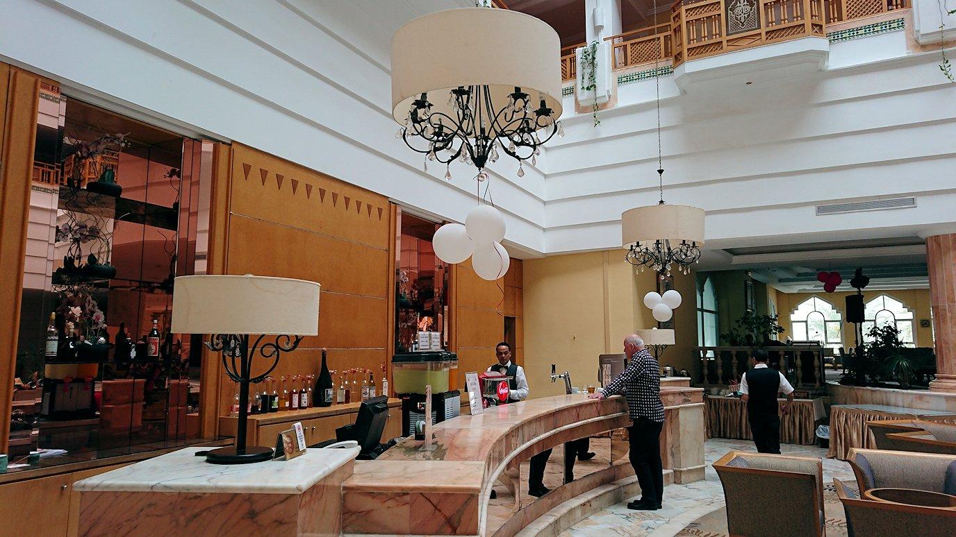 チュニジアのスースの街にある「マルハバ ロイヤル サレム」ホテルにチェックイン3