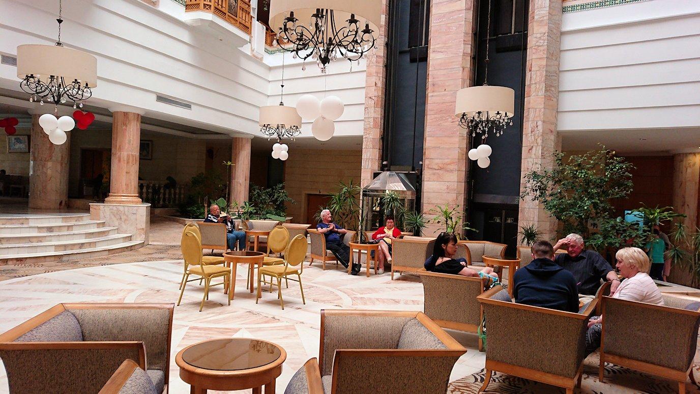 チュニジアのスースの街にある「マルハバ ロイヤル サレム」ホテルにチェックイン5