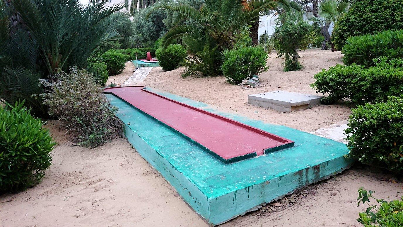 チュニジアのスースの街にある「マルハバ ロイヤル サレム」ホテルで朝敷地内を散策7