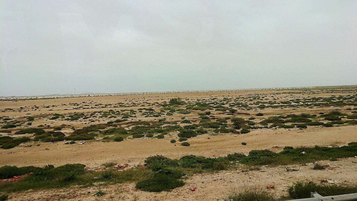 チュニジアのスースの街にある「マルハバ ロイヤル サレム」ホテルからドゥッガ遺跡に向けて出発8