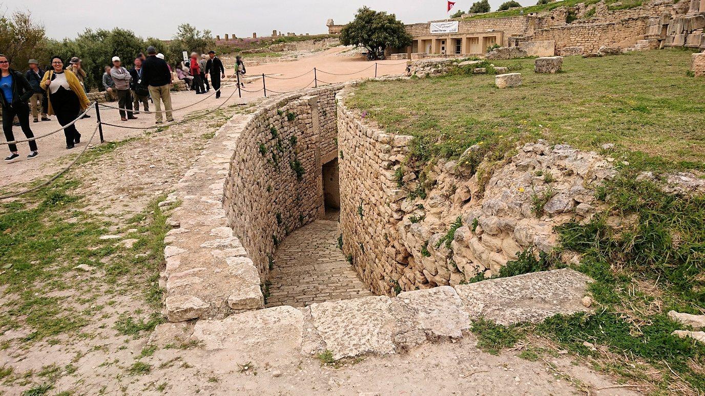 チュニジアのスースの街にある「マルハバ ロイヤル サレム」ホテルからドゥッガ遺跡に到着6