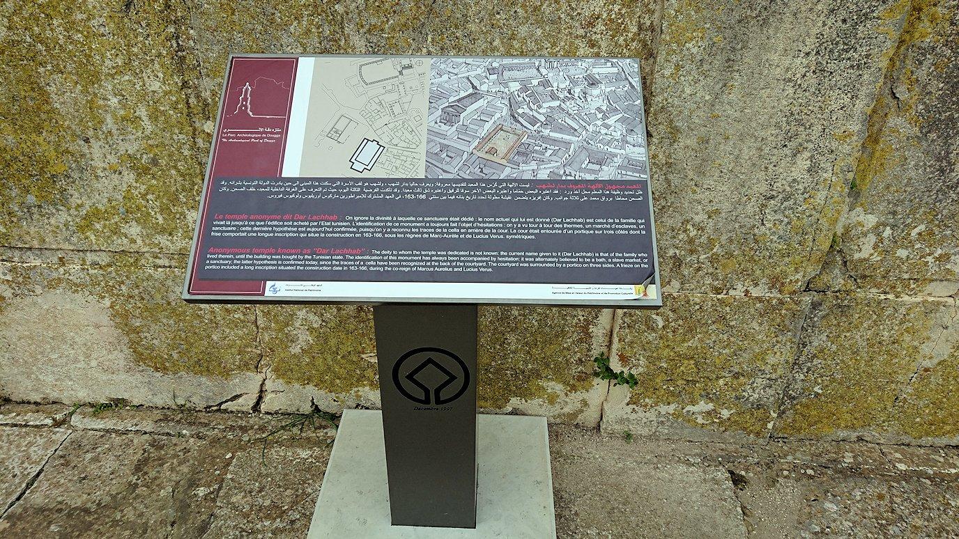 チュニジアのドゥッガ遺跡でどんどん進んで行きます9