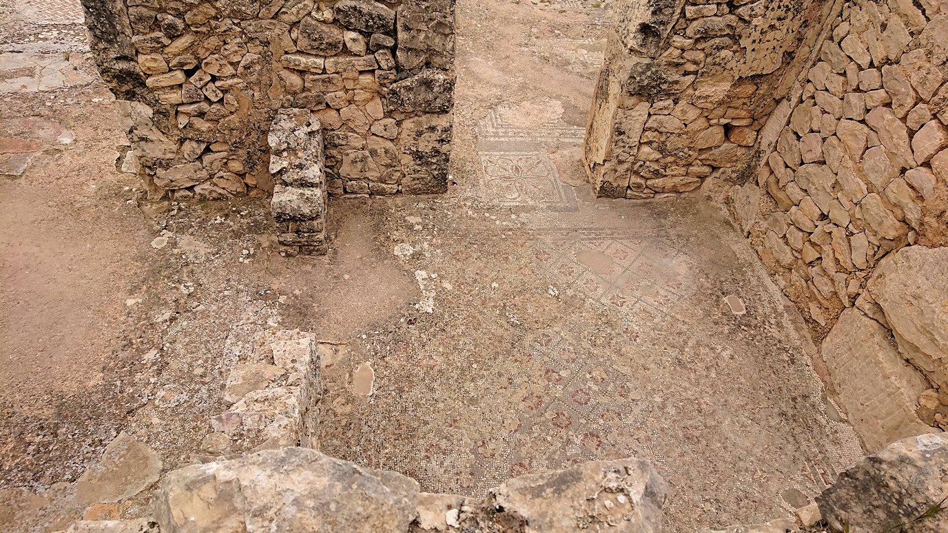 チュニジアのドゥッガ遺跡で見学6