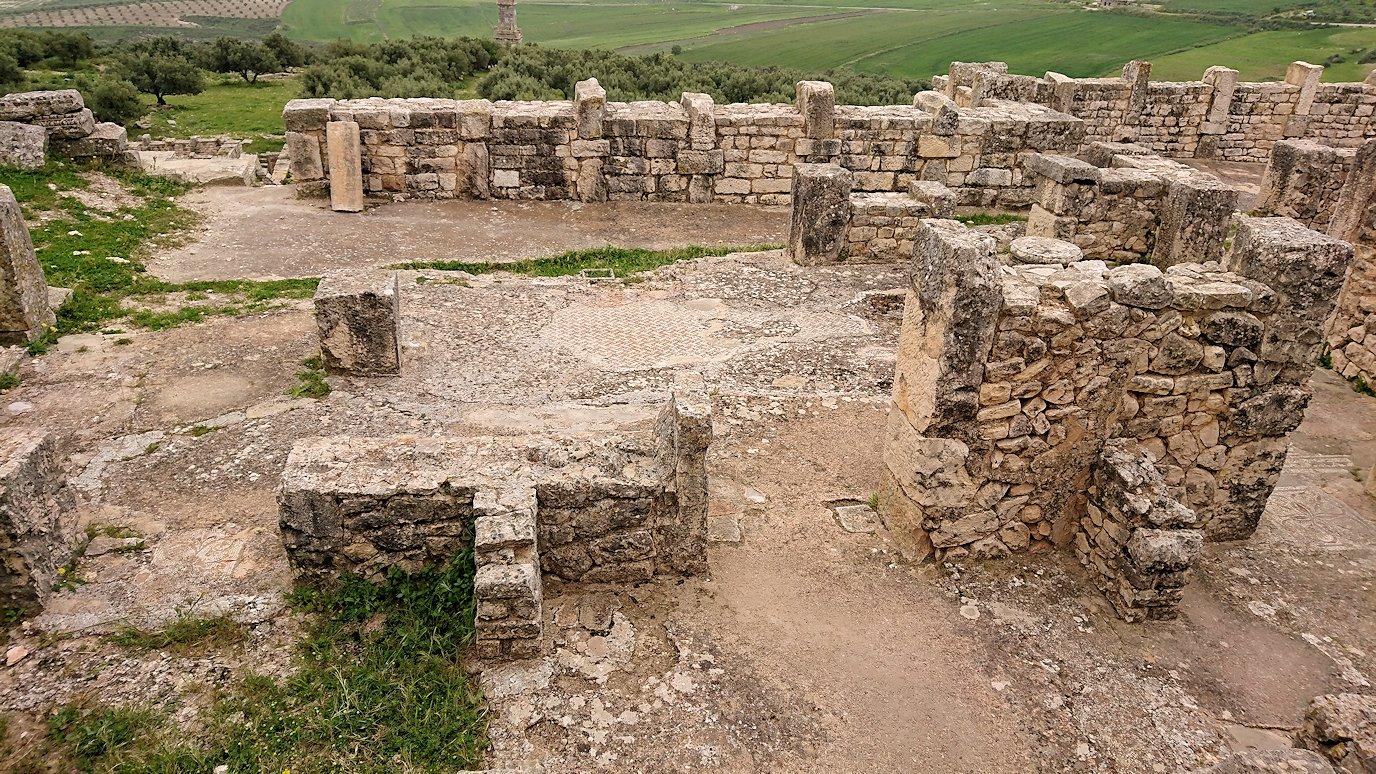 チュニジアのドゥッガ遺跡で見学7