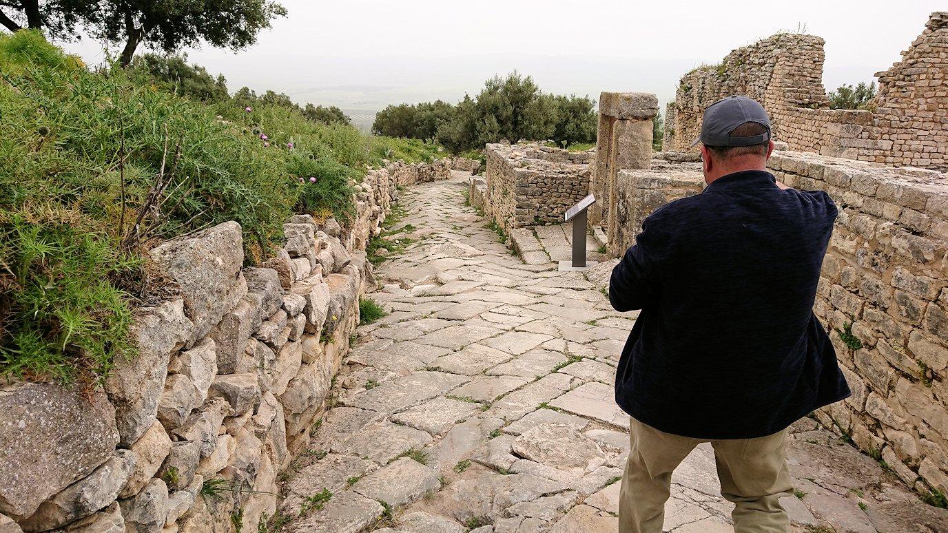 チュニジアのドゥッガ遺跡内をグルグル見学します1