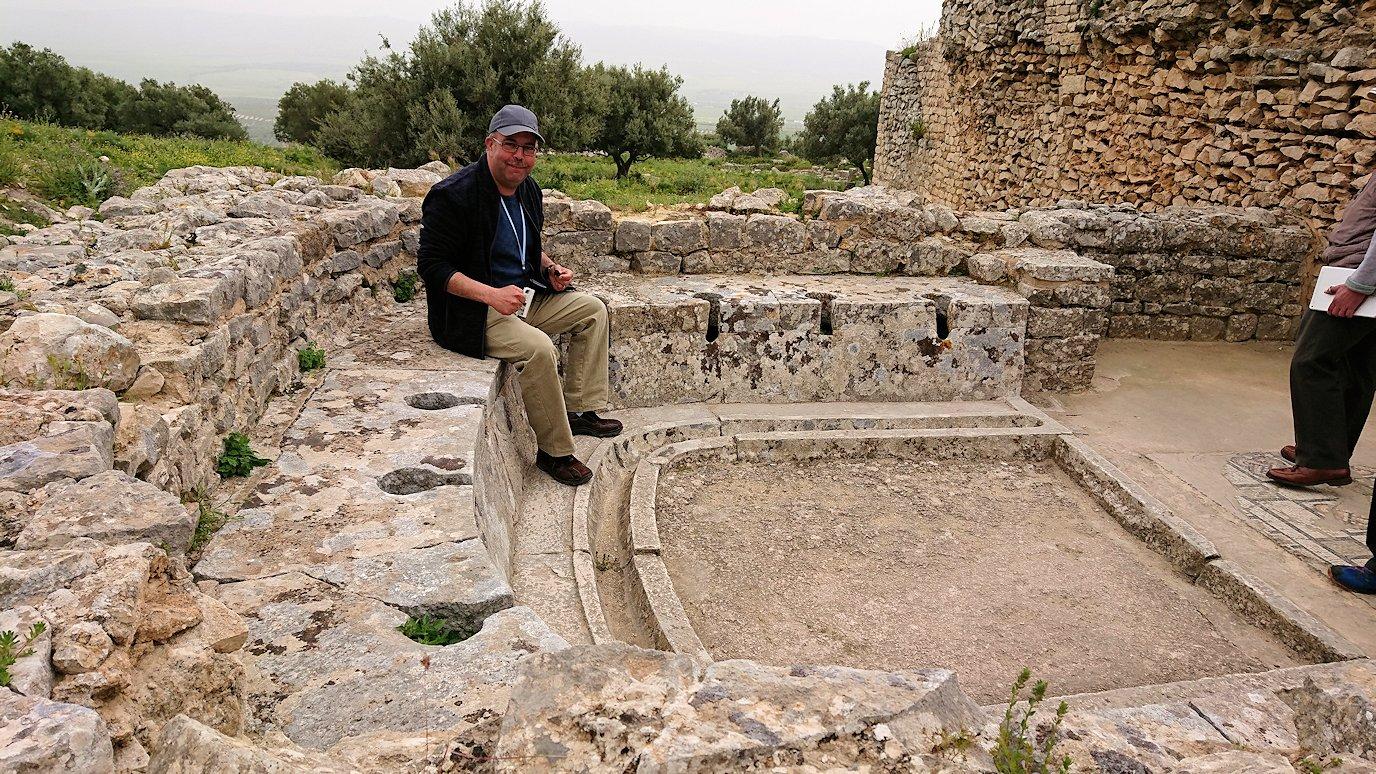 チュニジアのドゥッガ遺跡内をグルグル見学します6