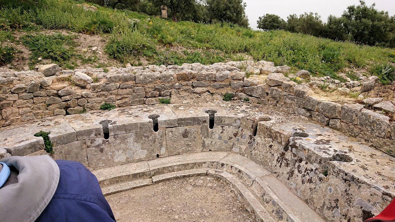チュニジアのドゥッガ遺跡内をグルグル見学します9