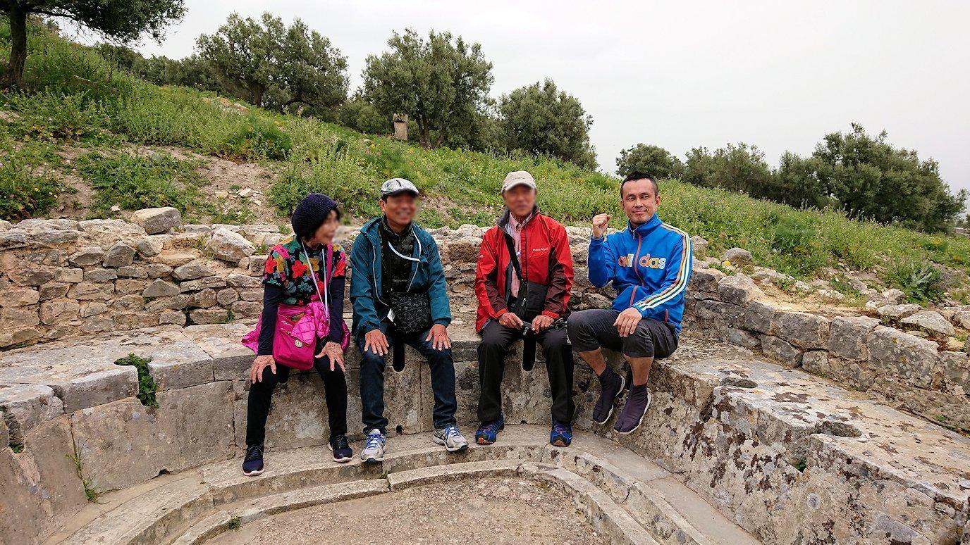 チュニジアのドゥッガ遺跡を満喫