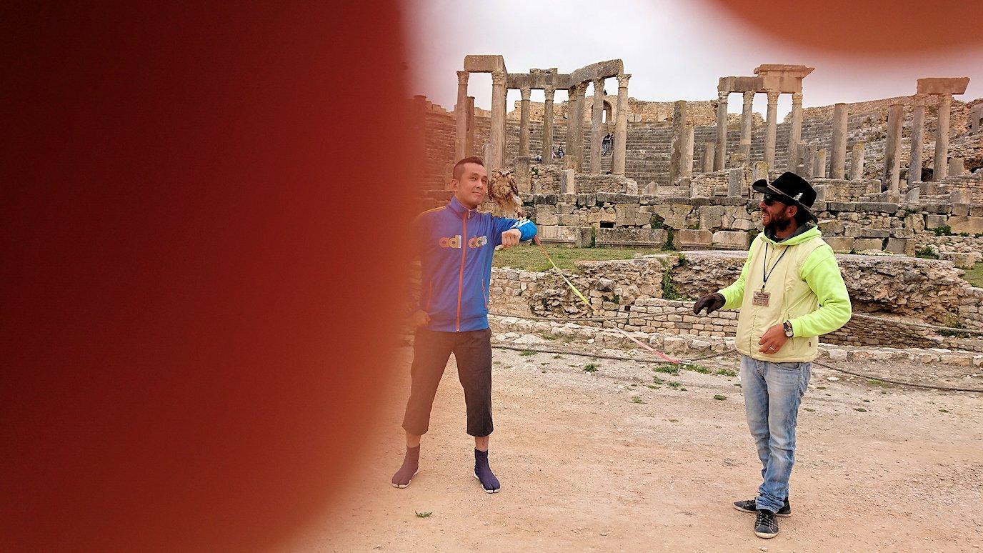 チュニジアのドゥッガ遺跡を満喫7
