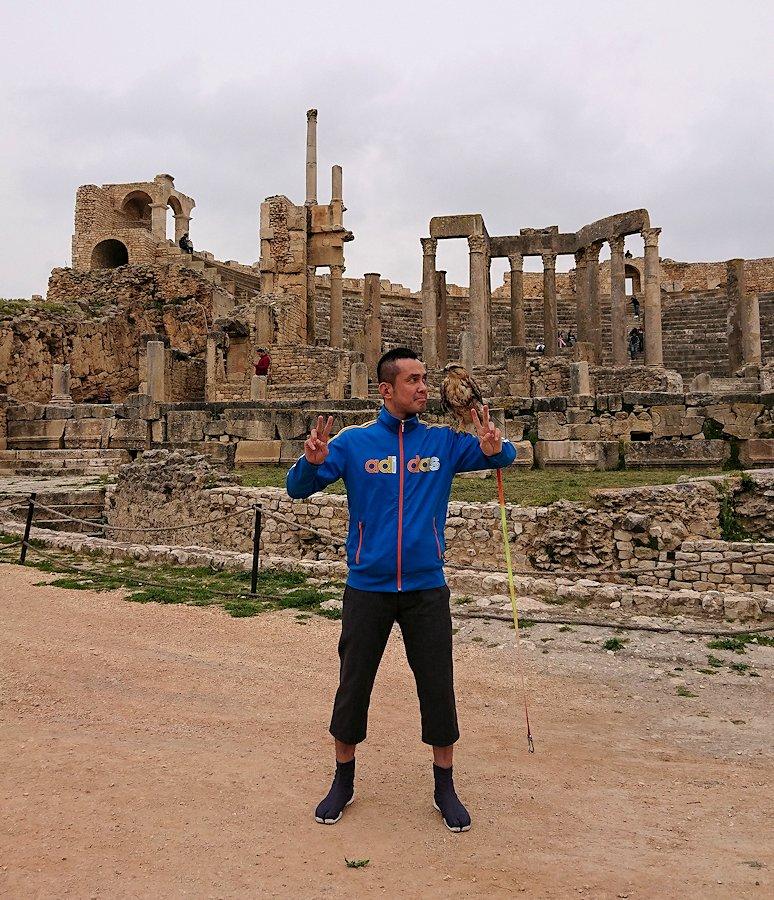 チュニジアのドゥッガ遺跡を満喫8