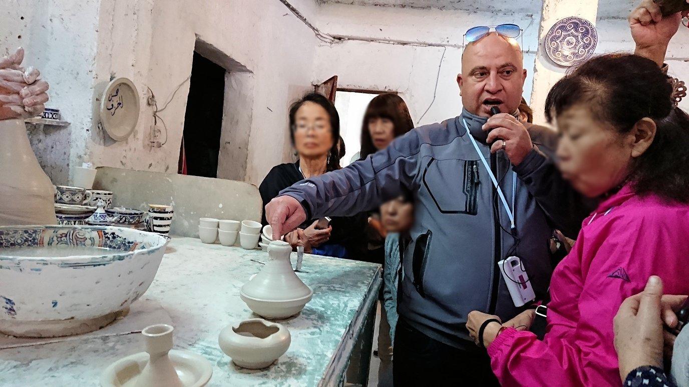 フェズの陶器工場にて3