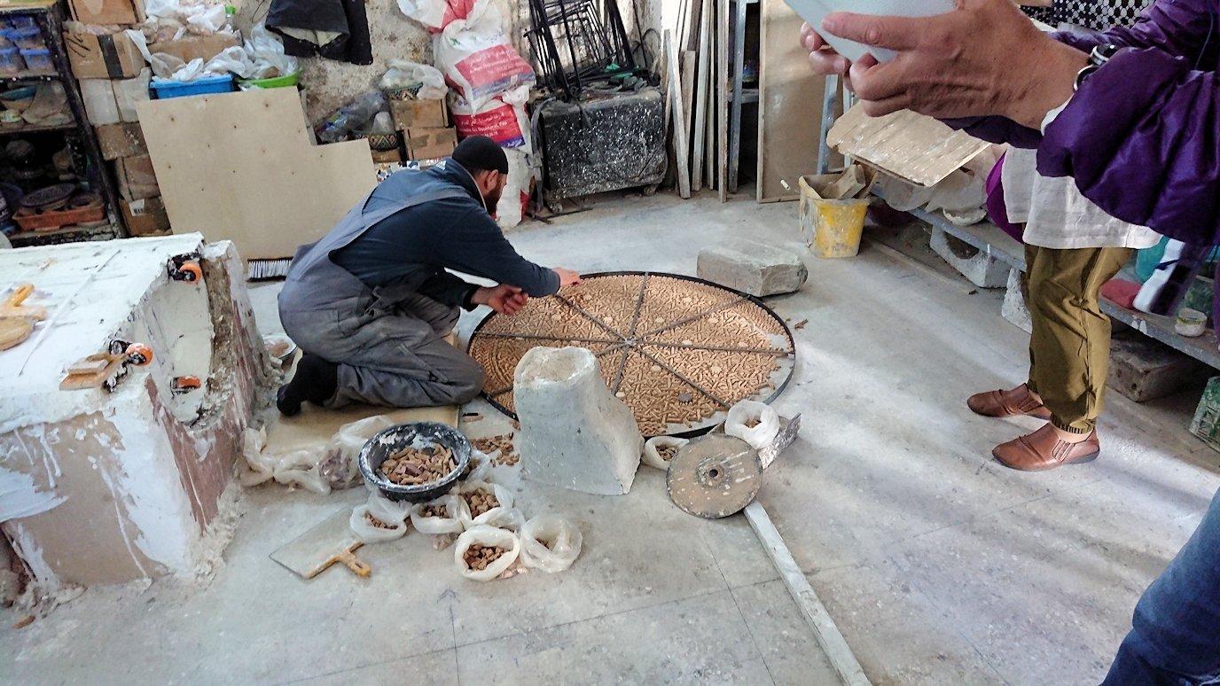 フェズの陶器工場にて6