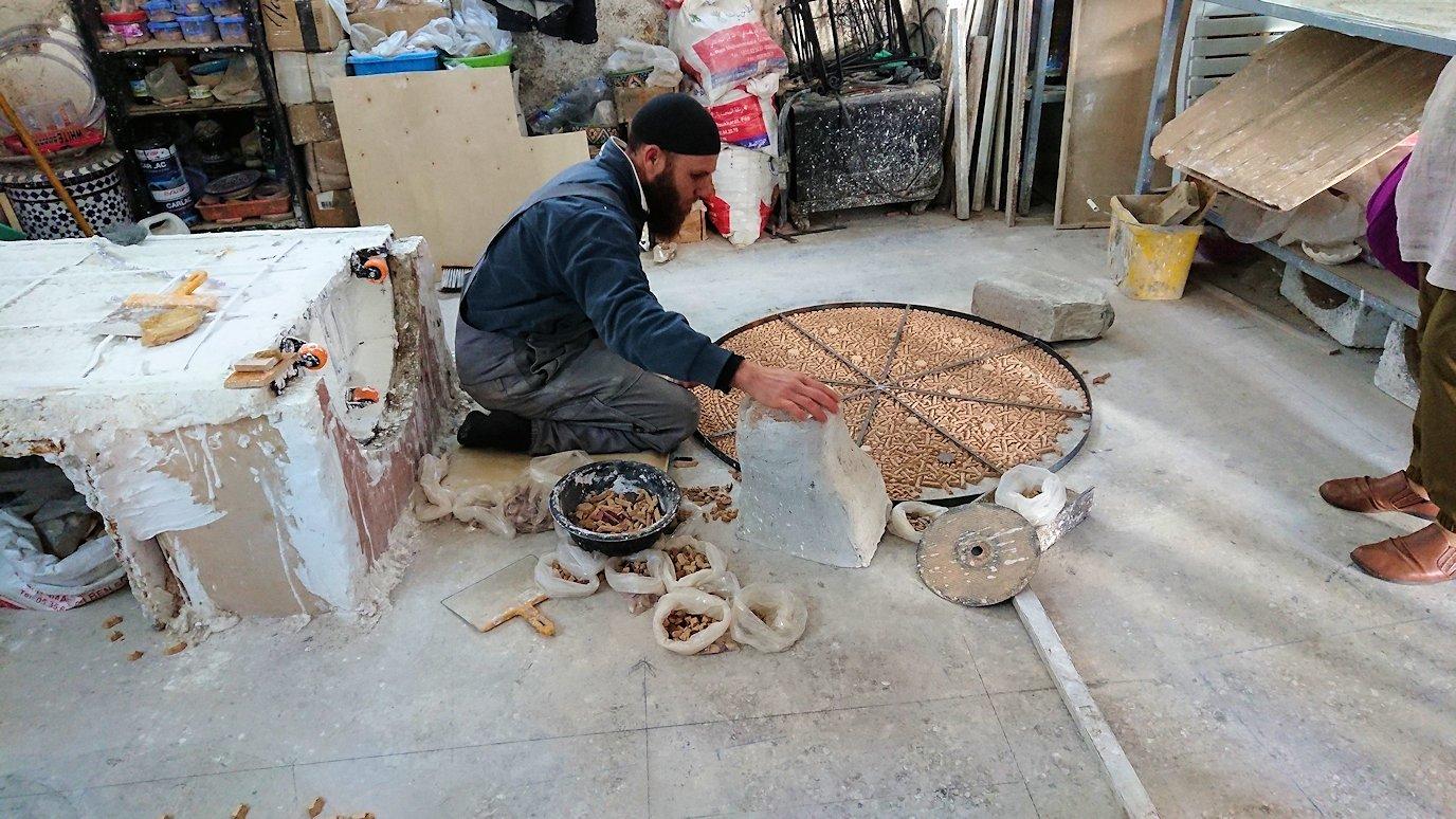 フェズの陶器工場にて7
