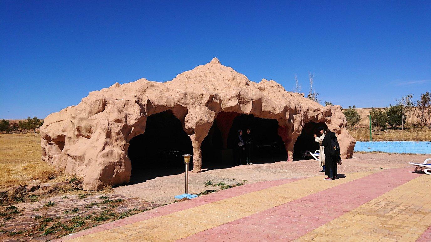 モロッコのミデルトのタダートホテルの裏で見た景色6
