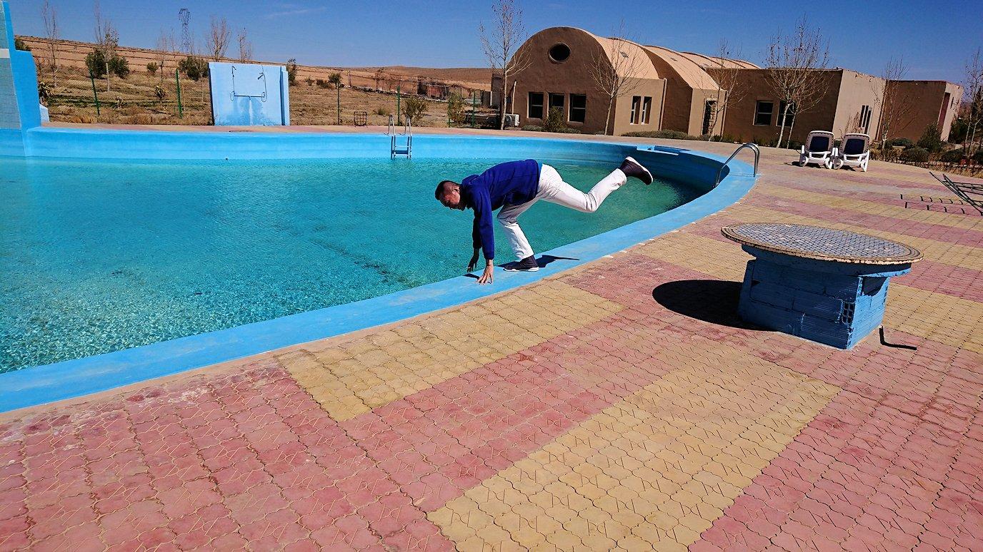 モロッコのミデルトのタダートホテルの裏で見た景色8