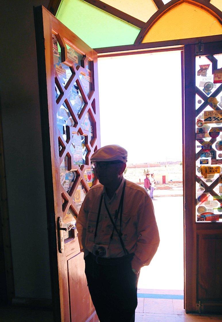 モロッコのミデルトのタダートホテル周辺の景色