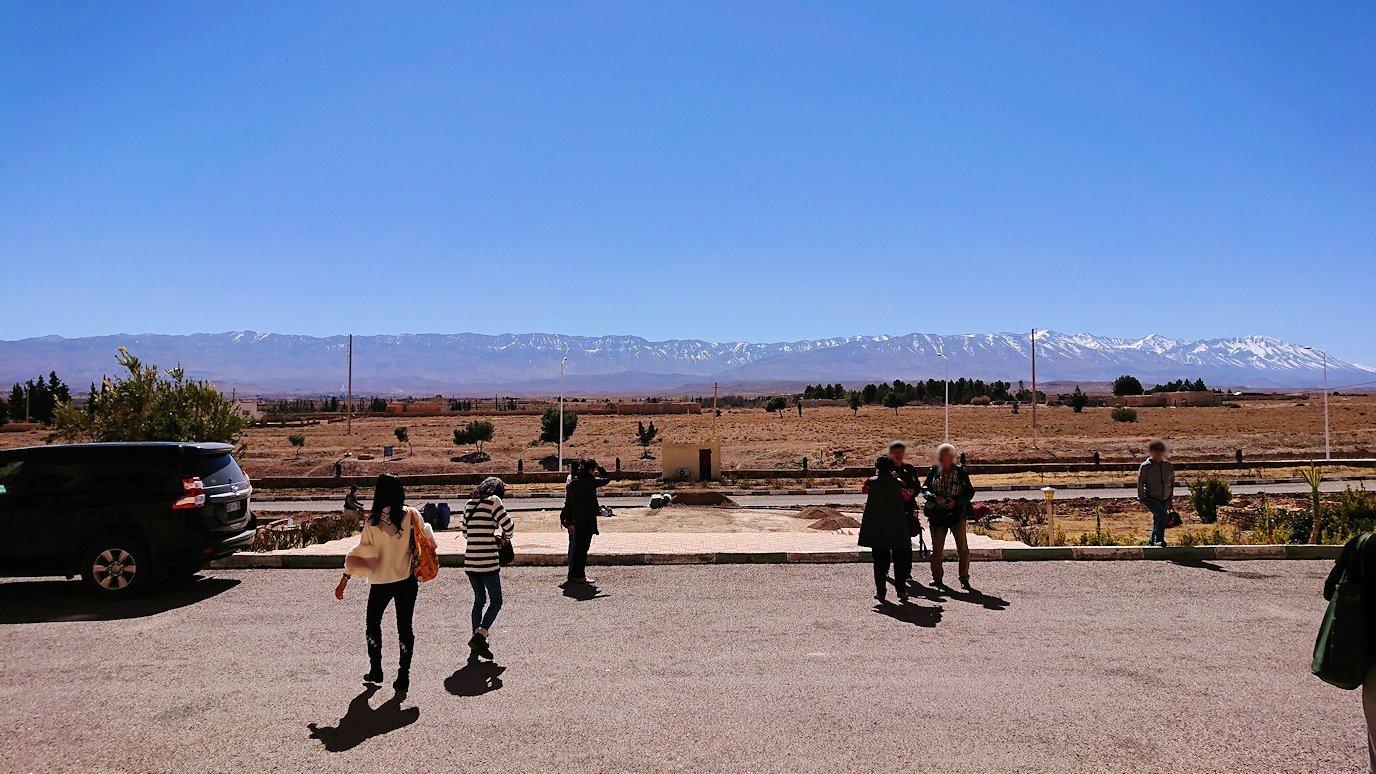 モロッコのミデルトのタダートホテル周辺の景色1